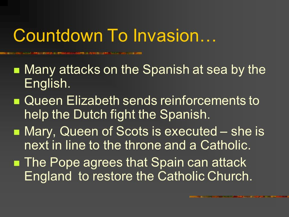 Countdown To Invasion…