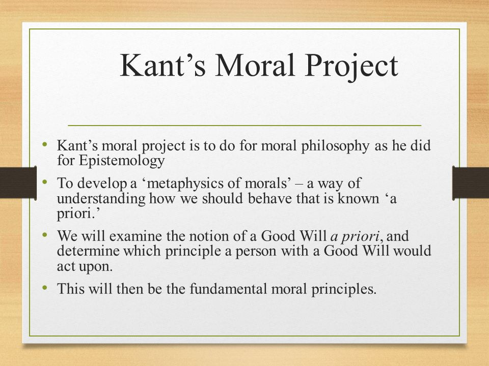 the moral dimension as kant understood Maxims in kant's practical philosophy richard mccarty most english-language interpreters of kant's moral theory regard maxims as principles or policies expressing the reasons upon which rational 3 if kant understood the role of maxims in his theory of action the way most interpreters.