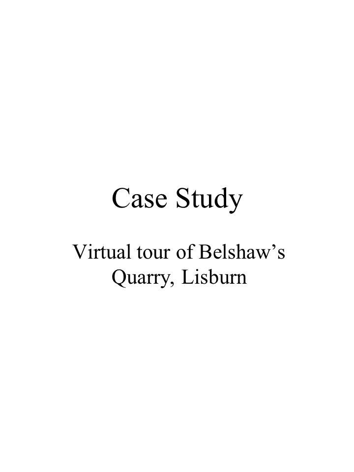 Virtual tour of Belshaw's Quarry, Lisburn