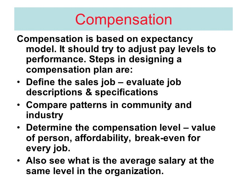 motivation by commission based pay 2013-11-19  not everyone has what it takes to be a successful salesperson if you're thinking about jumping into a commission-based career, keep in mind that there's a specific formula of skills and personality that the job requires.