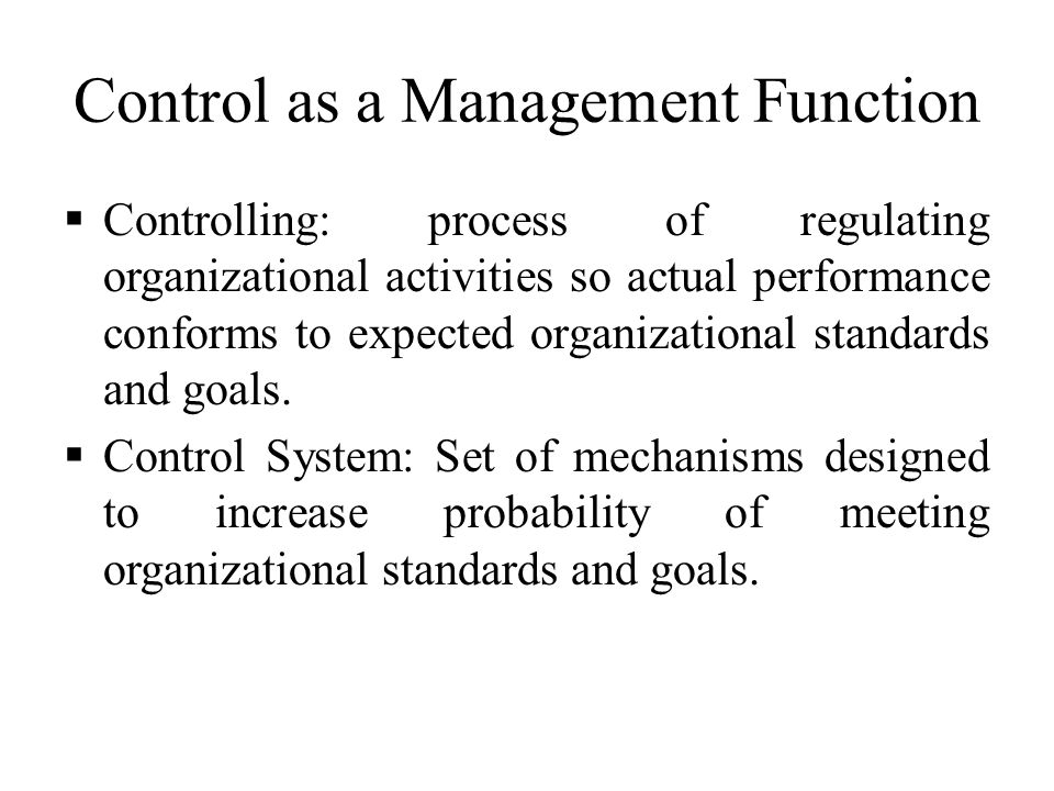 Functions of Management Accounting (4 Functions )
