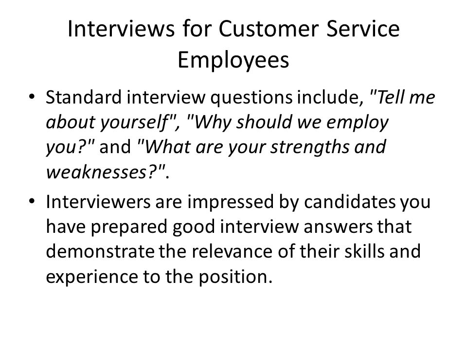 customer service review questions • asks appropriate questions to clarify information/needs customer service to review documents and make revisions.