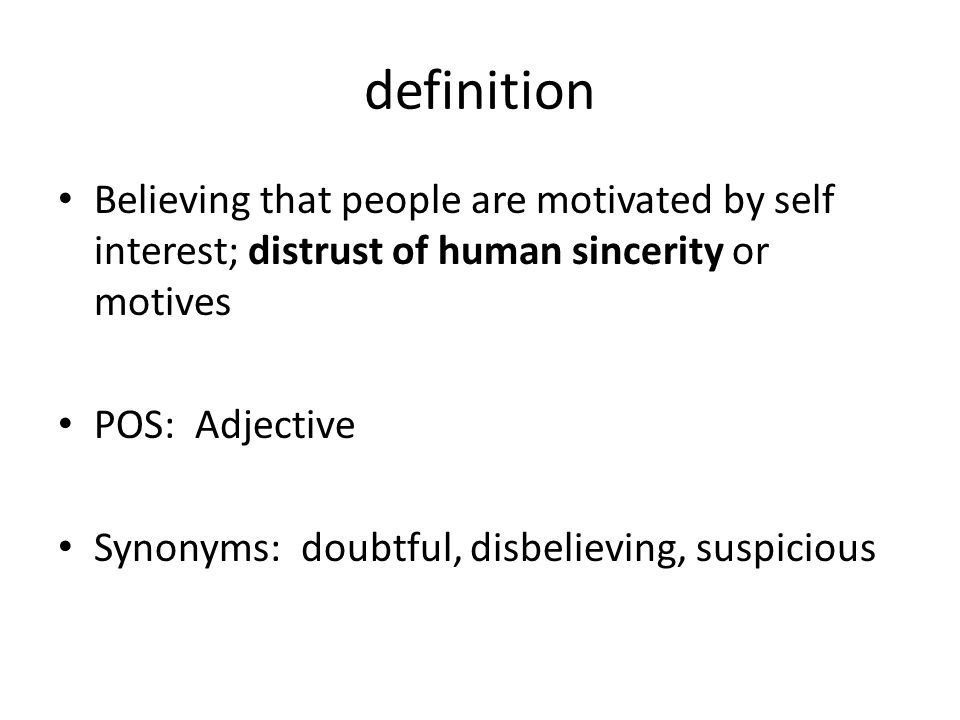 13 Definition Believing ...