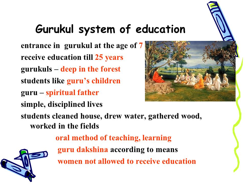 Essay education system school gurukul
