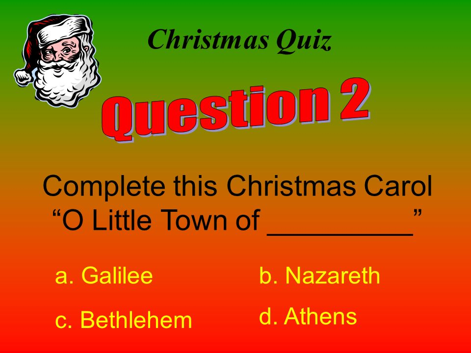Complete this Christmas Carol O Little Town of _________