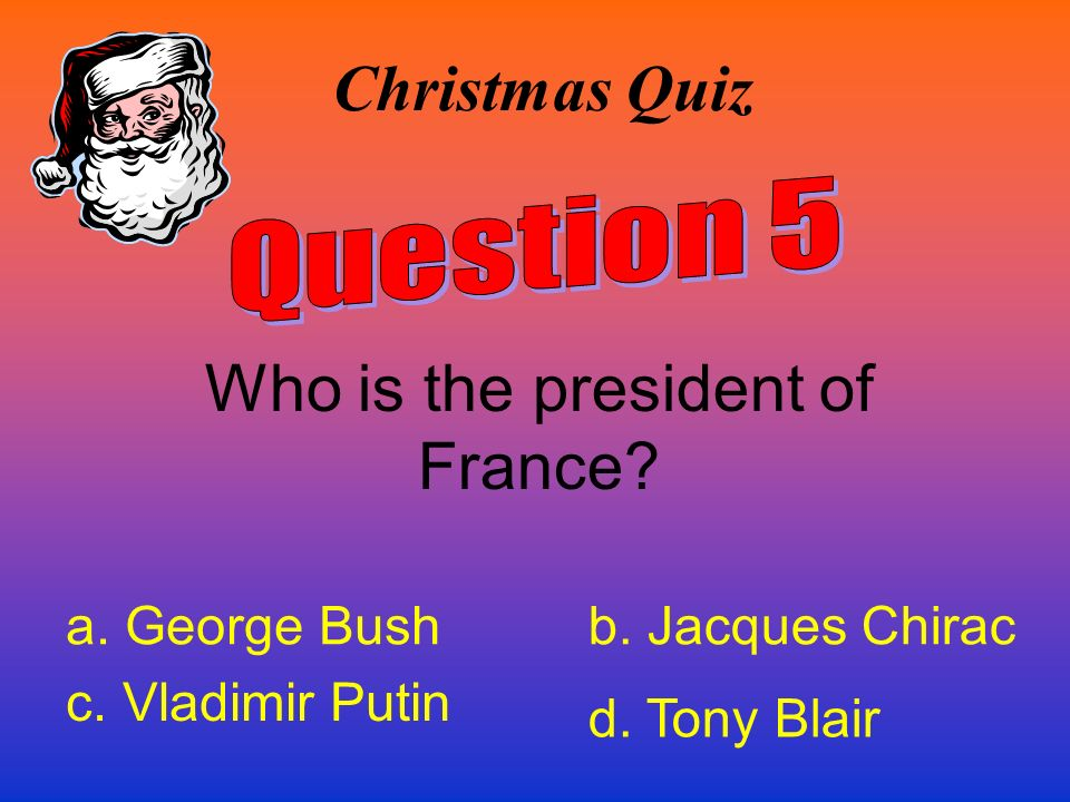 Who is the president of France