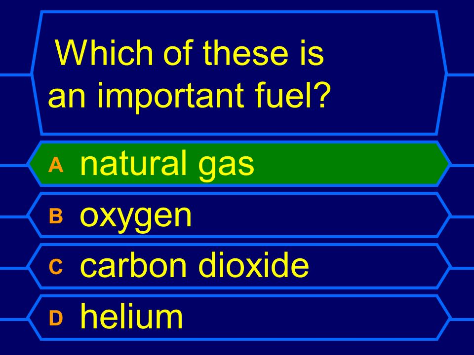 Which of these is an important fuel