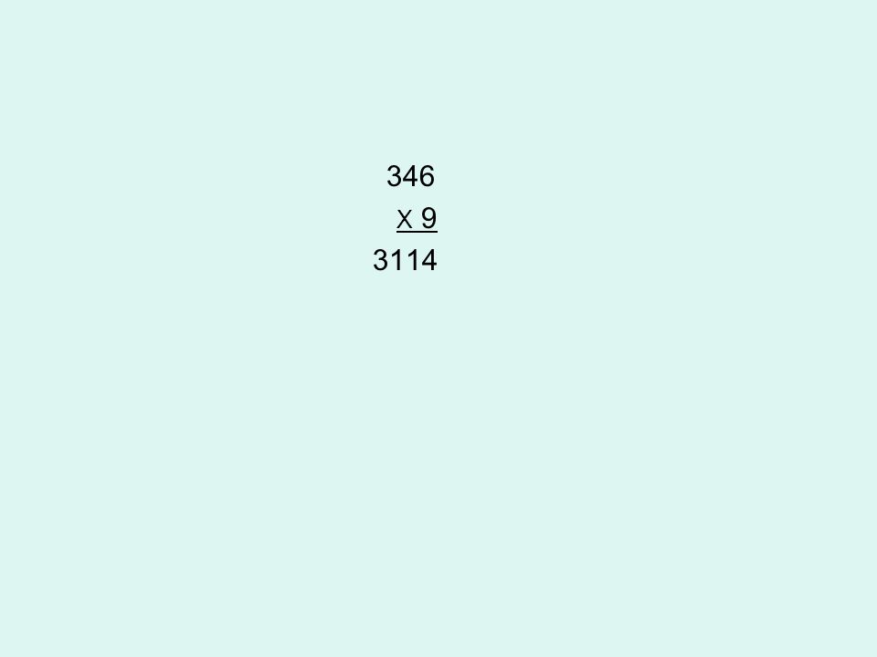 346 X 9 3114