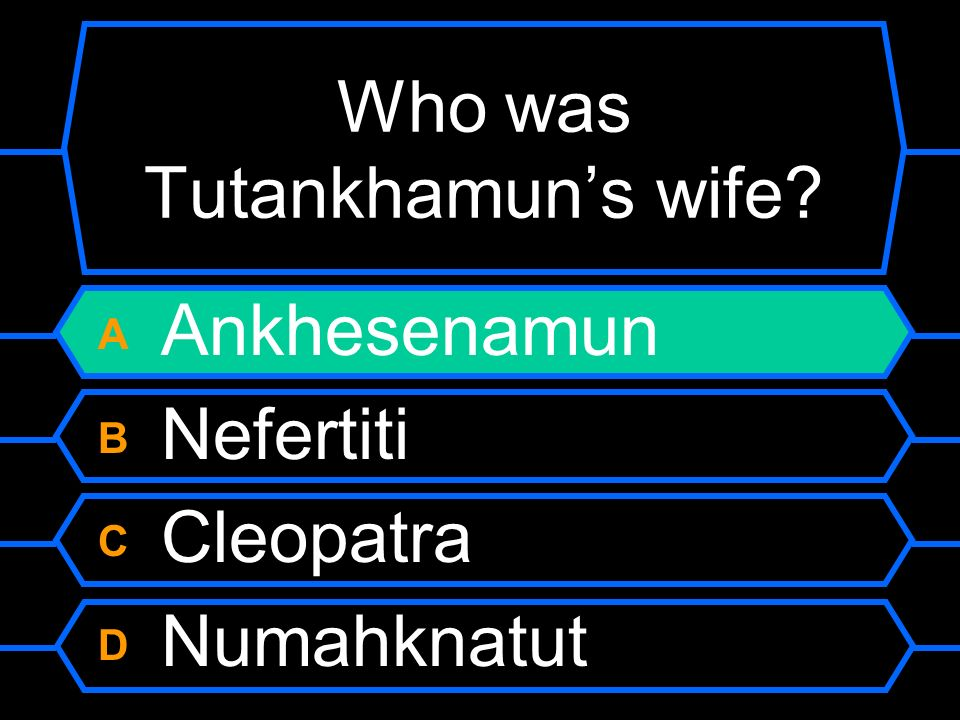 Who was Tutankhamun's wife