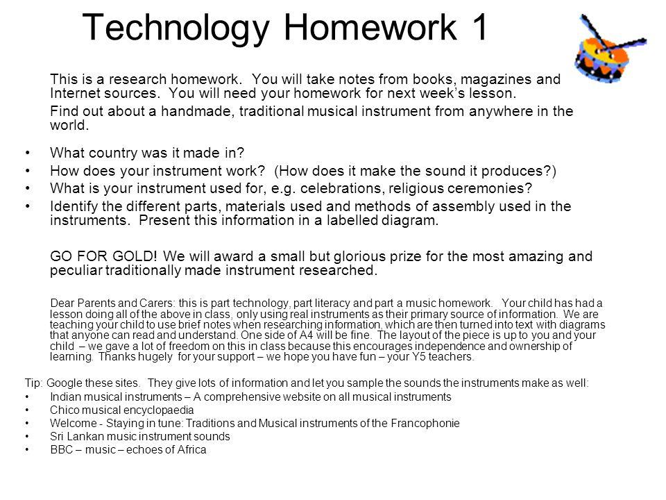 Technology Homework 1