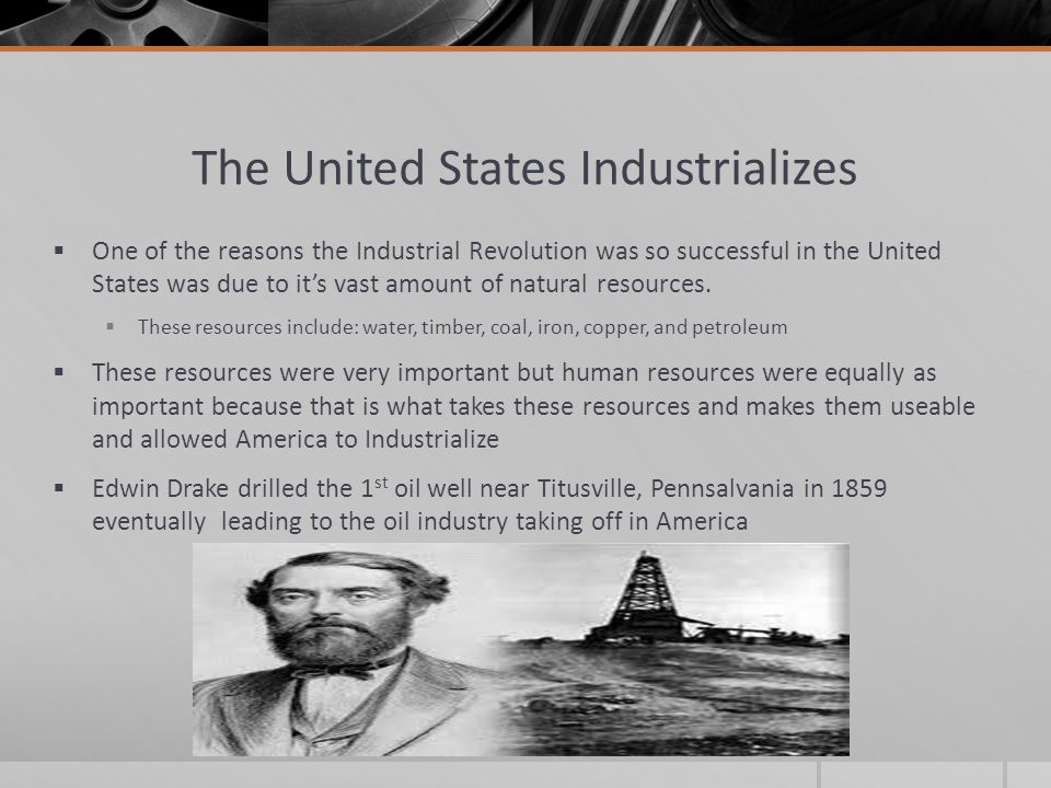 the consequences of the industrial revolution in the united states History of europe - revolution and the growth of industrial society, 1789–1914: developments in 19th-century europe are bounded by two great events the french revolution broke out in 1789, and its effects reverberated throughout much of europe for many decades.
