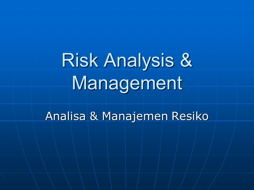 risk analysis How can the answer be improved.