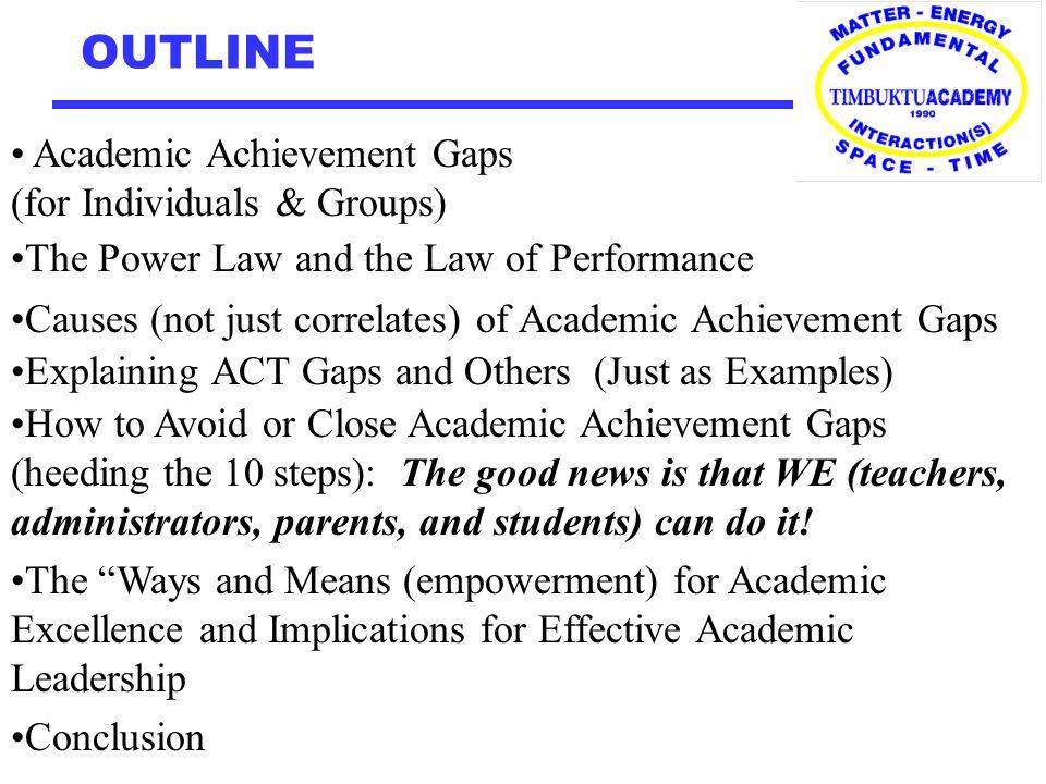 academic achievements examples