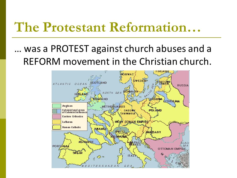 protestant reformation vs civil rights movement The different aspects of protestant reformation beginning in 1517, a reform movement was established under the roman empire, regarding the protestant reformation the reform targeted cultural, economic, political and religious.