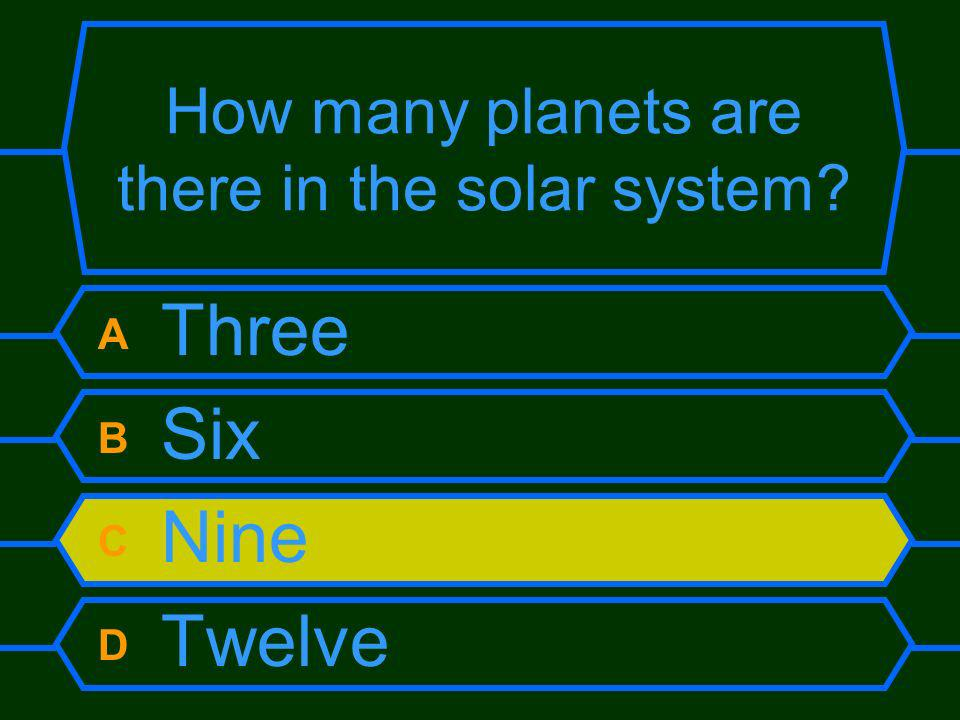 How many planets are there in the solar system