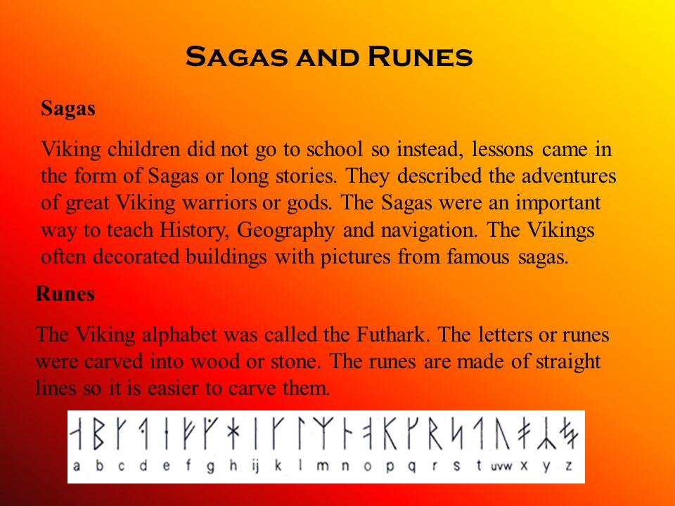 Sagas and Runes Sagas.