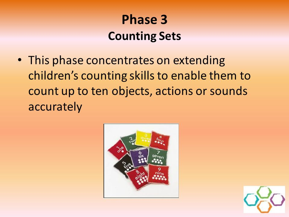 Phase 3 Counting Sets