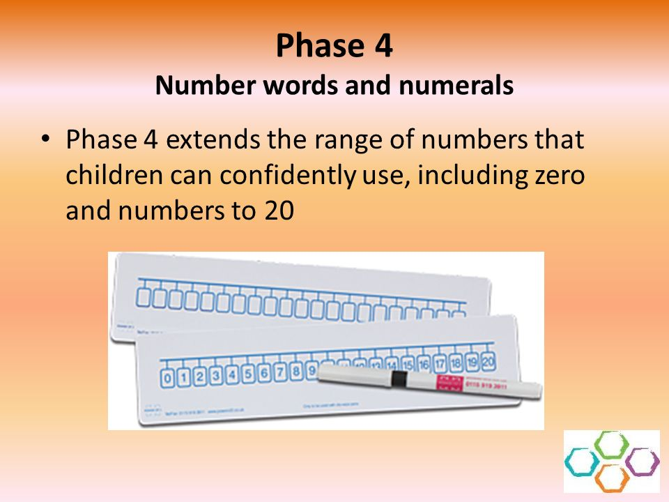 Phase 4 Number words and numerals