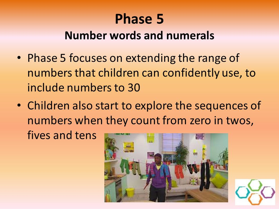 Phase 5 Number words and numerals