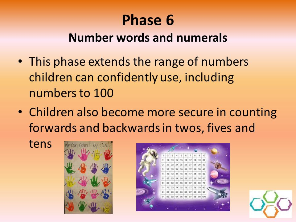 Phase 6 Number words and numerals