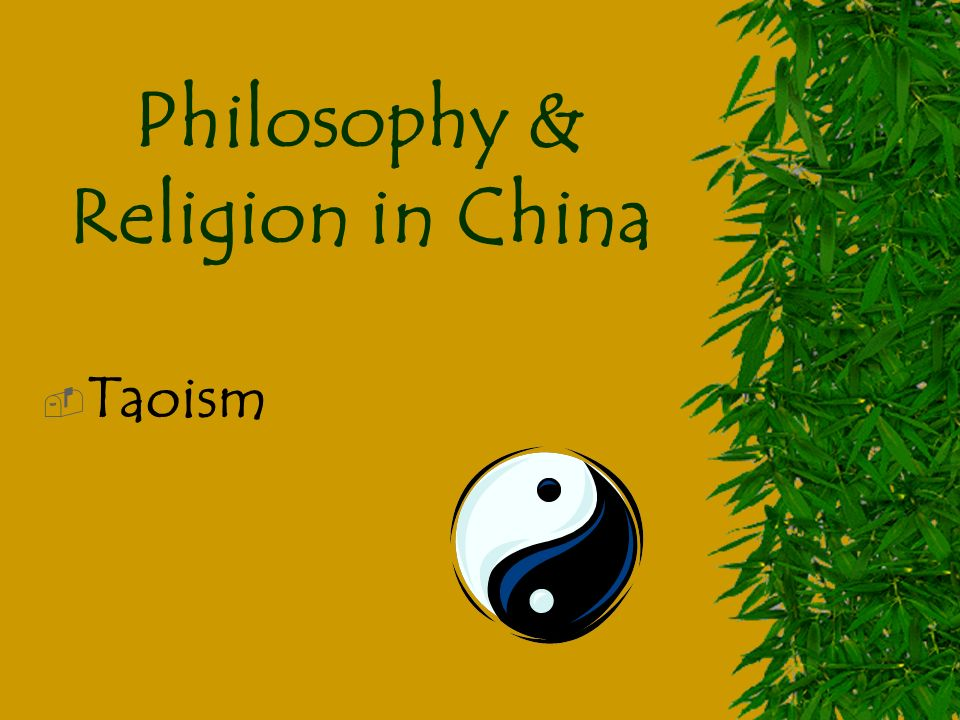 the philosophical and religious concept of taoism Taoist philosophy attempts to illuminate the interdependency of all things, including life, art, and language learn about taoist philosophy.