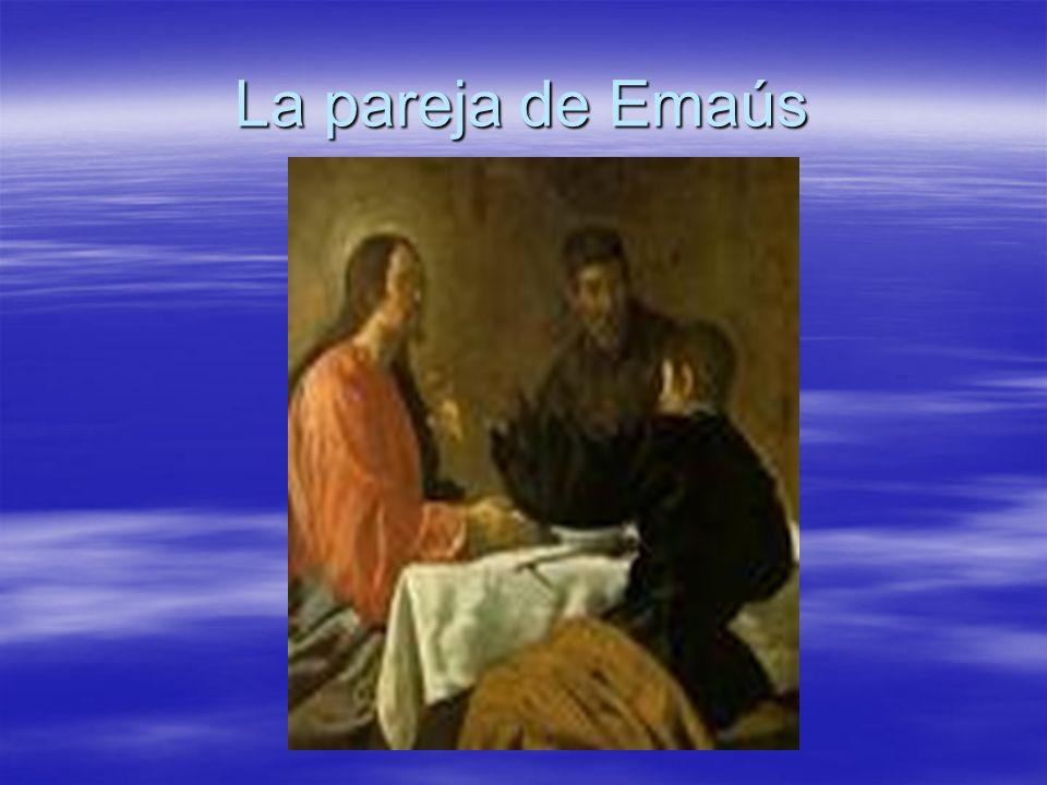 La pareja de Emaús
