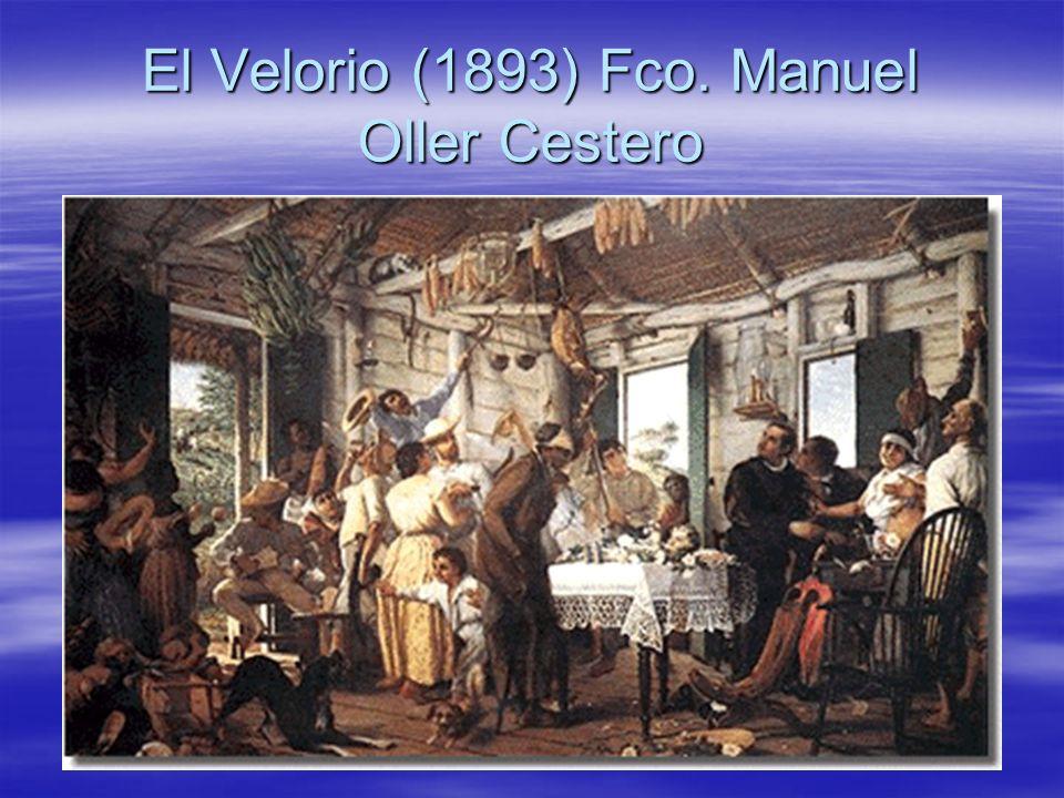 El Velorio (1893) Fco. Manuel Oller Cestero