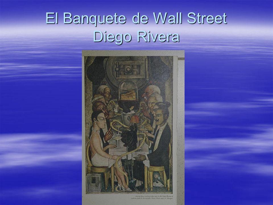 El Banquete de Wall Street Diego Rivera