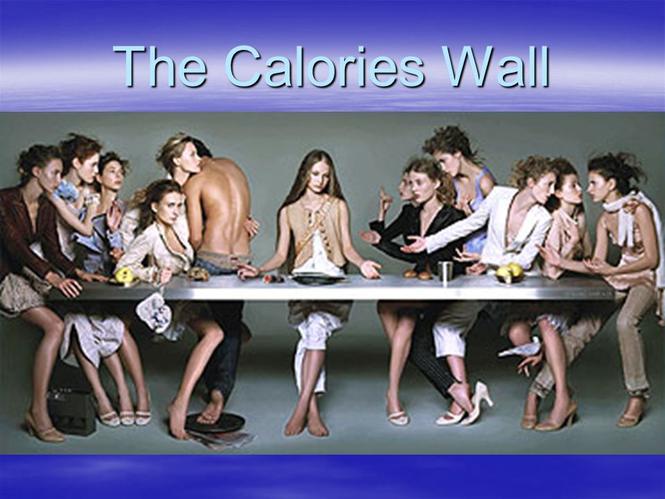 The Calories Wall