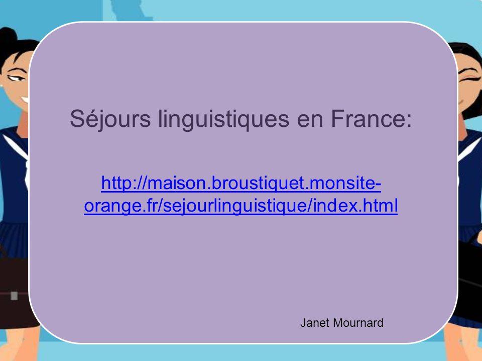 Séjours linguistiques en France: