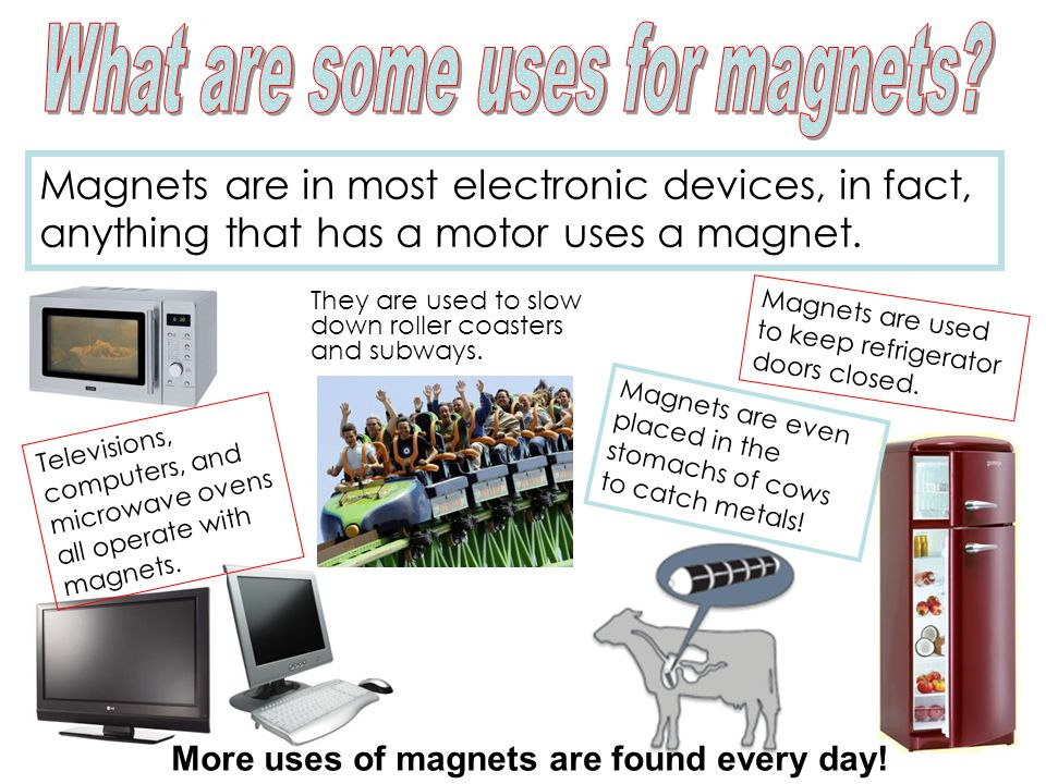 What are some uses for magnets
