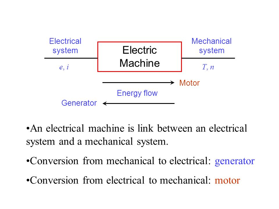 Electric electrical system chapter 1