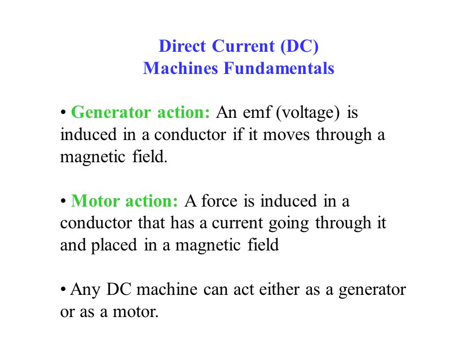 Machines Fundamentals
