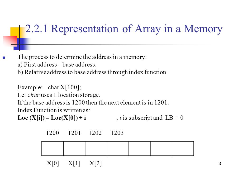 array representation Returns a string representation of the contents of the specified array the string representation consists of a list of the array's elements, enclosed in square brackets ([]) adjacent elements are separated by the characters , (a comma followed by a space.