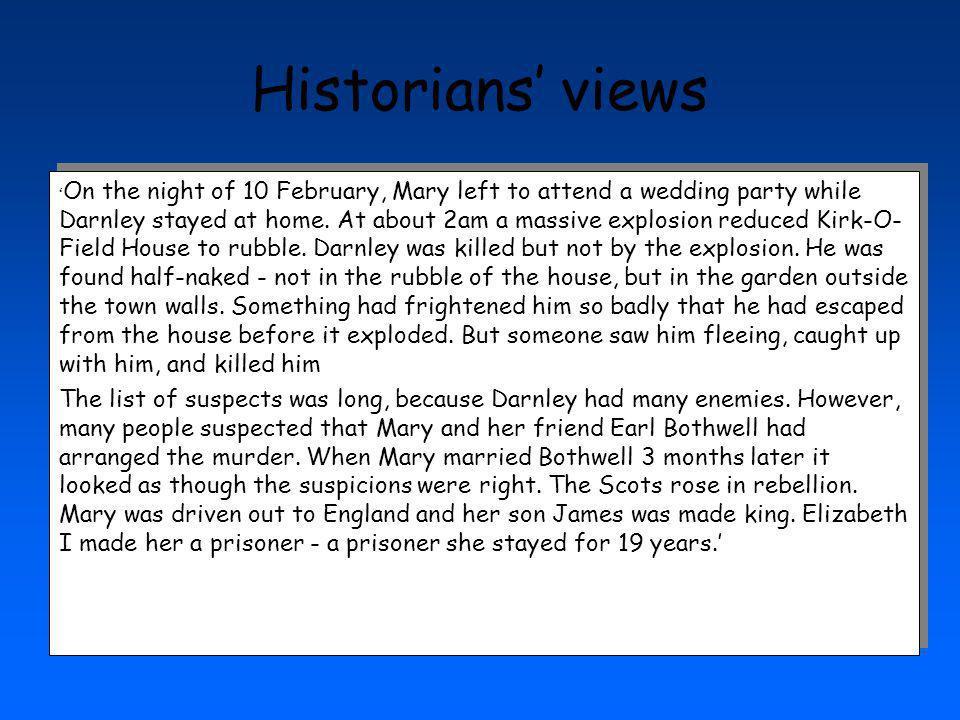 Historians' views