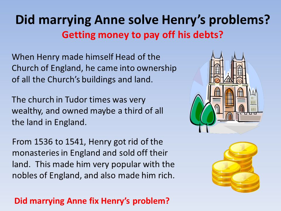 Did marrying Anne solve Henry's problems