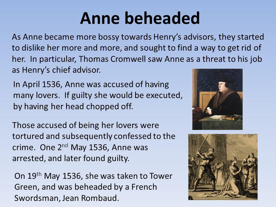 Anne beheaded
