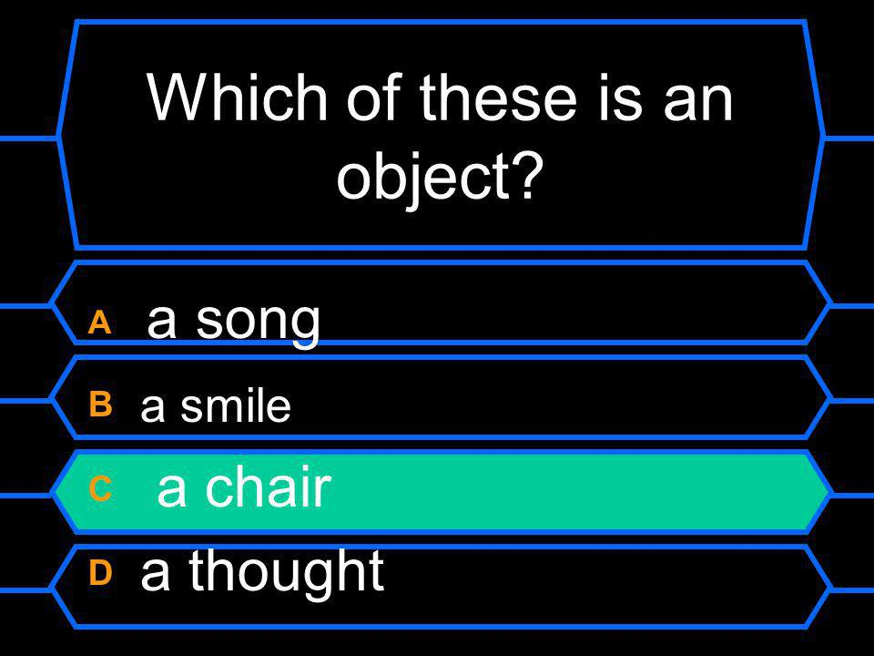 Which of these is an object