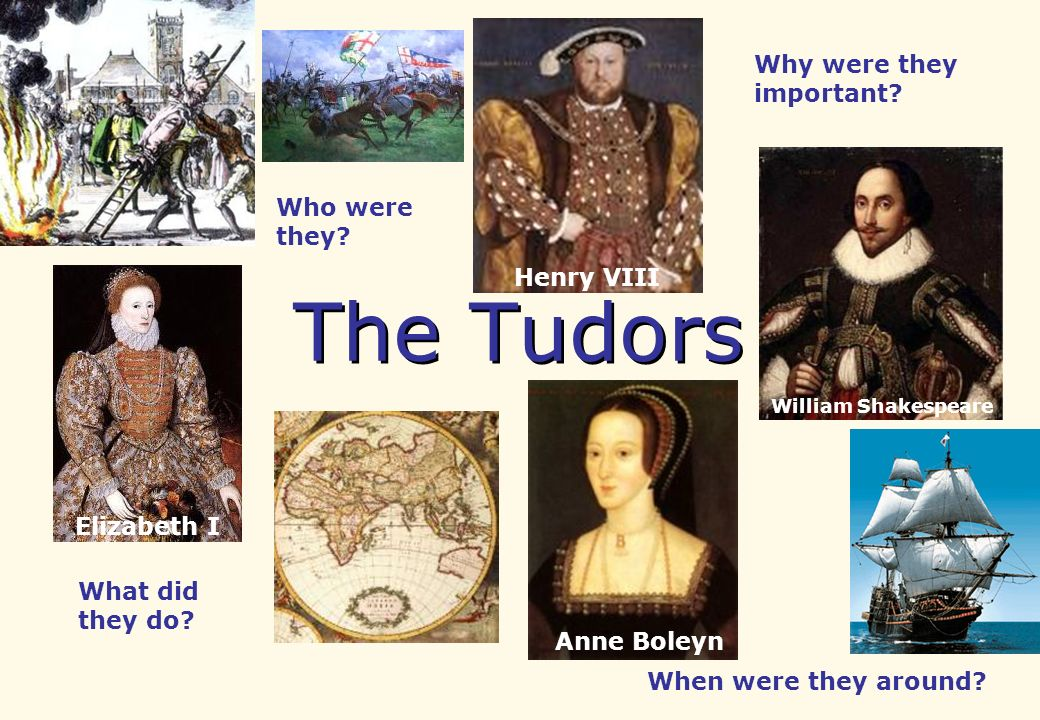 The Tudors Why were they important Who were they Henry VIII