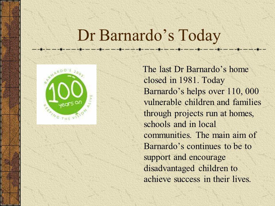 Dr Barnardo's Today