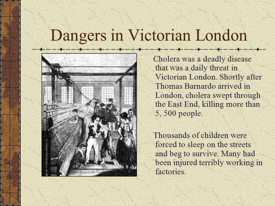 Dangers in Victorian London