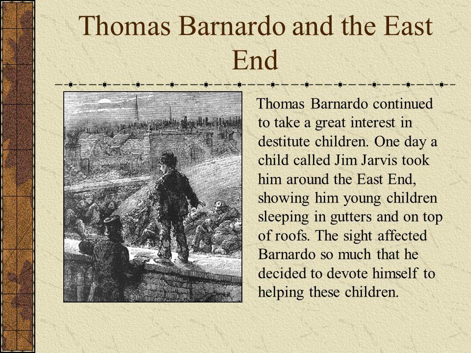 Thomas Barnardo and the East End