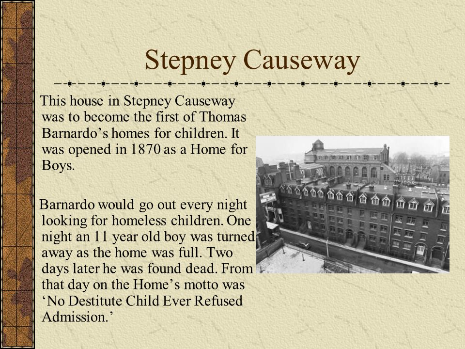Stepney Causeway