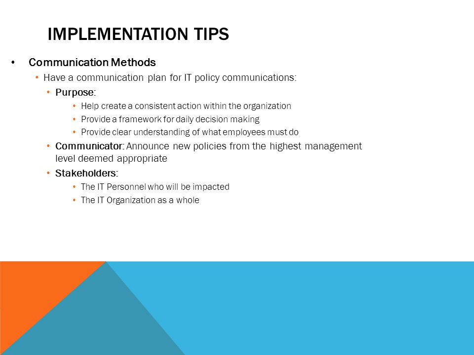 discuss the processes for implementing a communications method Discuss the processes for implementing a communications method methods of communication jamey l brown university of phoenix people communicate in many different ways.