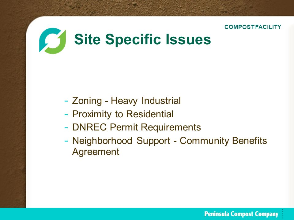 The peninsula compost group ppt download 4 site platinumwayz