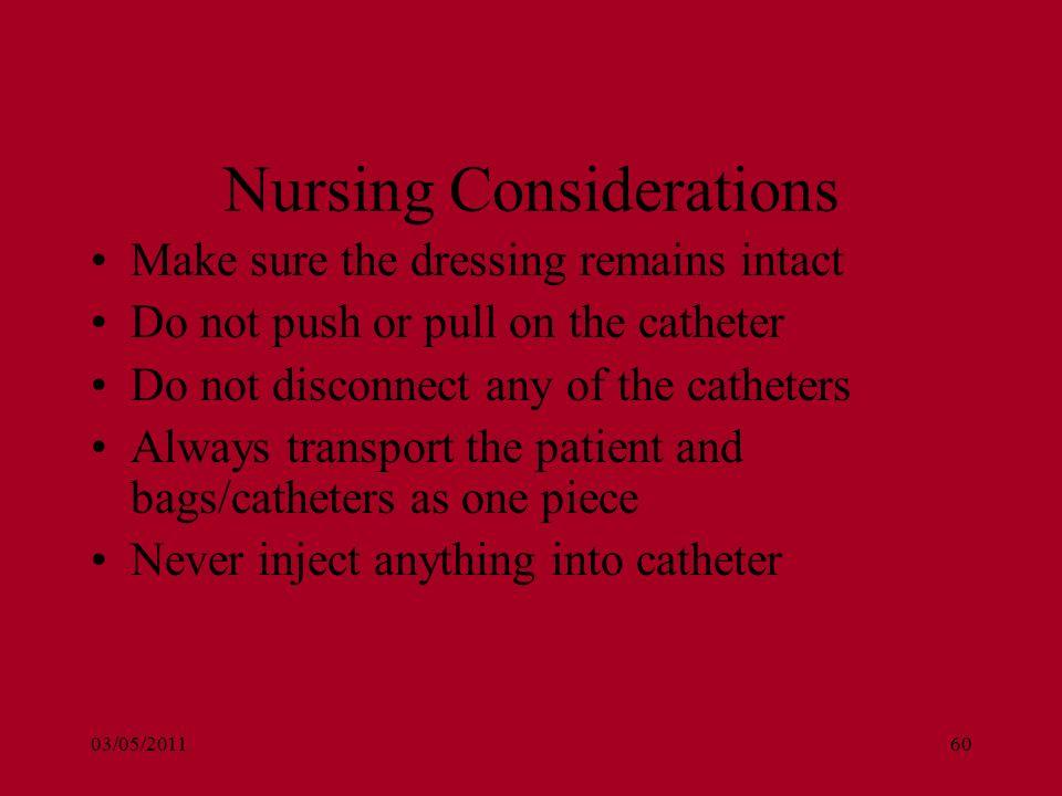 Paracetamol nursing consideration