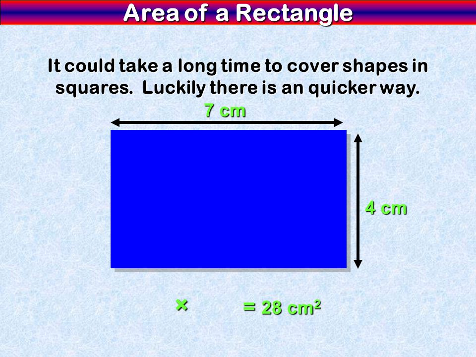 It could take a long time to cover shapes in squares