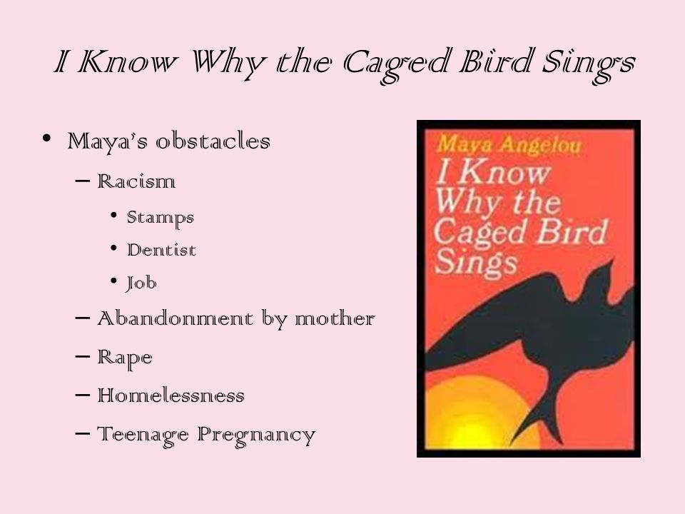 an analysis of the emotions in i know why the caged bird sings by maya angelou 'i know why the caged bird sings' by maya angelou is a famous piece of african-american literature which explores the feelings of oppression and.