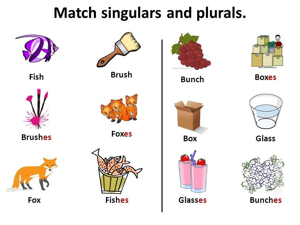 Match singulars and plurals.