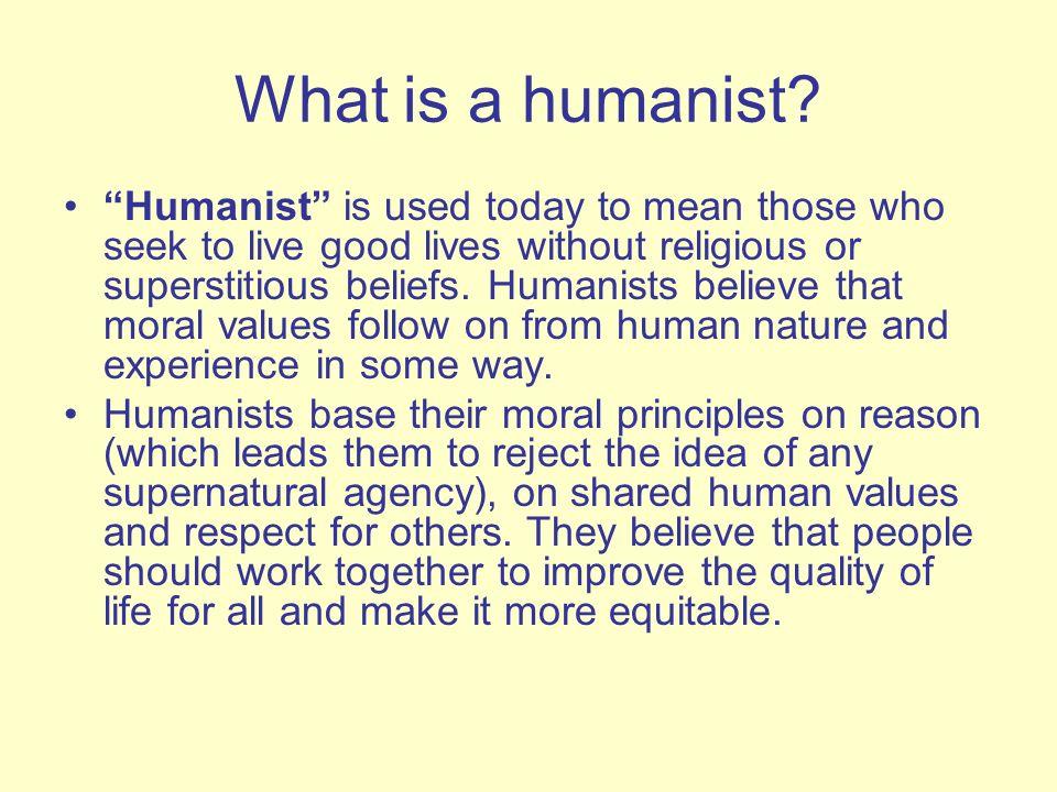 Human Nature To Seek The Good